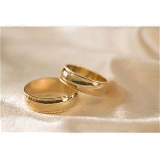 X. gold wedding bands