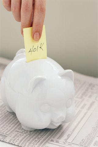 401 piggy bank