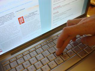 Pressing keys on keyboard