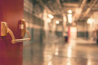 Hospital door 1.8.16