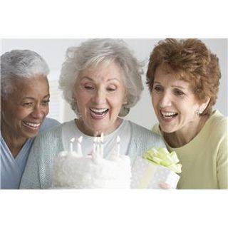 X. elderly birthday