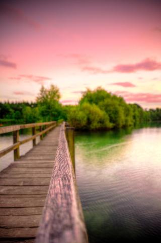 Blur-bridge-clouds-dawn-447431